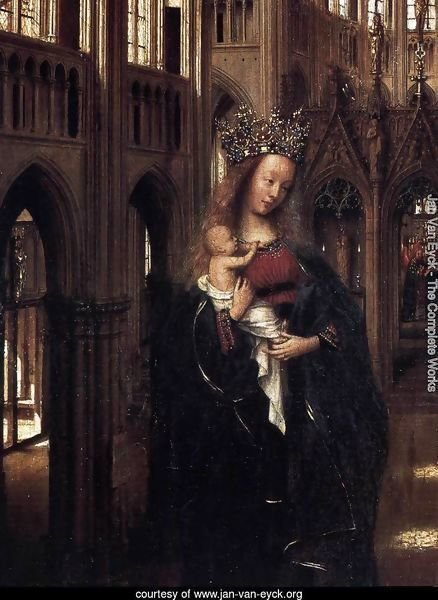 Madonna in the Church (detail)