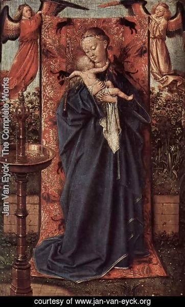Jan Van Eyck - Virgin at the source