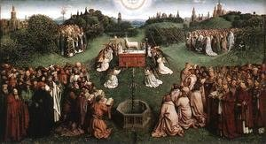 The Ghent Altarpiece Adoration of the Lamb