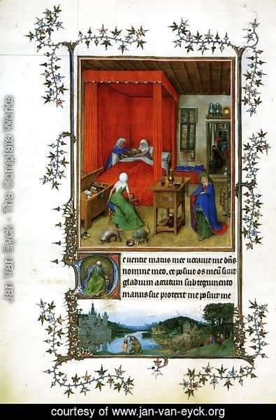 Jan Van Eyck - Miniature Turin-Milan Hours