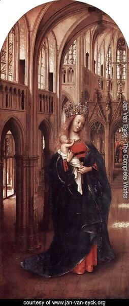 Jan Van Eyck - The Virgin in the Church