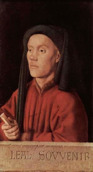 Jan Van Eyck - Portrait of a man (Timoteos)
