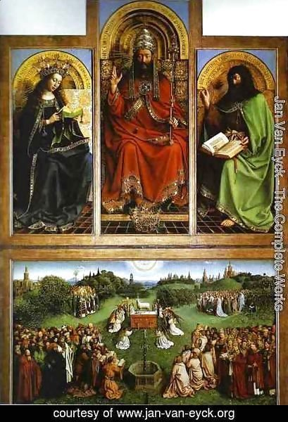 Jan Van Eyck - God the Father