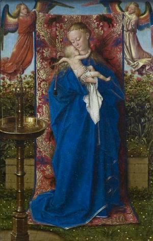 Jan Van Eyck - Madonna at the Fountain