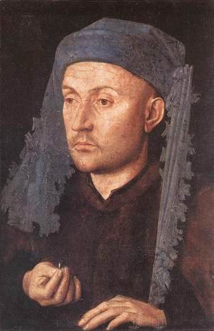 Jan Van Eyck - Man in a Blue Turban