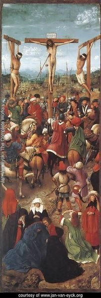 Jan Van Eyck - Crucifixion 1420-25