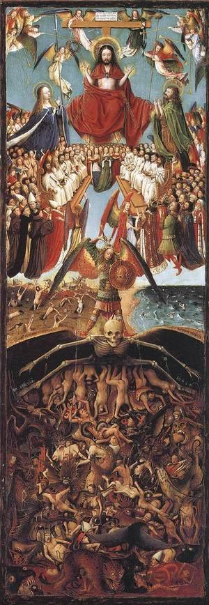 Jan Van Eyck - Last Judgment 1420-25