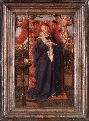 Jan Van Eyck - Madonna and Child at the Fountain 1439