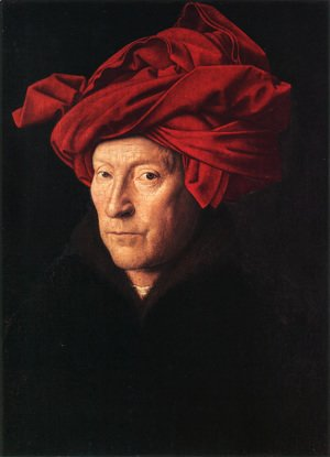 Jan Van Eyck - Man in a Turban 1433