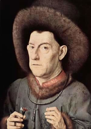 Portrait of a Man with Carnation c. 1435
