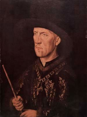 Jan Van Eyck - Portrait of Baudouin de Lannoy c. 1435