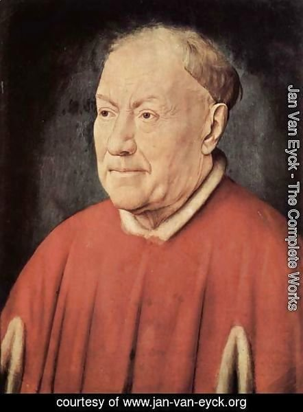 Jan Van Eyck - Portrait of Cardinal Niccolo Albergati 1431-32