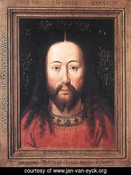 Jan Van Eyck - Portrait of Christ 1440