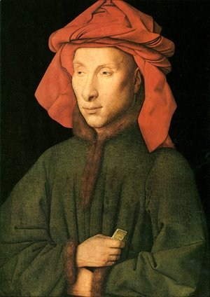 Jan Van Eyck - Portrait Of Giovanni Arnolfini