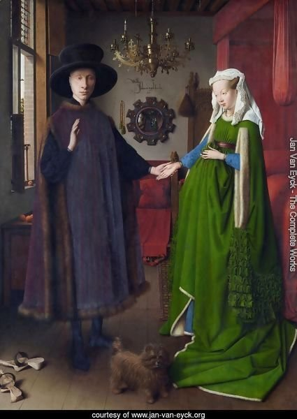 Portrait of Giovanni Arnolfini and his Wife 1434
