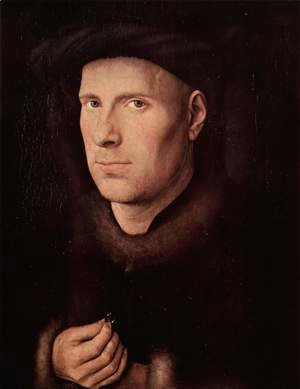Jan Van Eyck - Portrait of Jan de Leeuw 1436