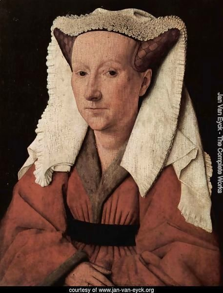 Portrait of Margareta van Eyck 1439