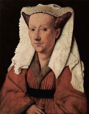 Jan Van Eyck - Portrait of Margareta van Eyck 1439