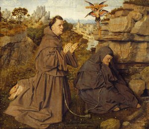 Jan Van Eyck - Stigmatization of St Francis 1428-29
