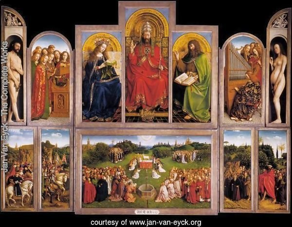 The Ghent Altarpiece (wings open) 1432