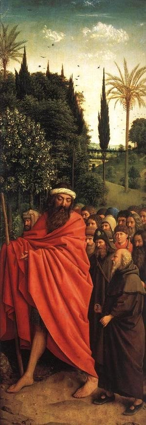 The Ghent Altarpiece- The Holy Pilgrims 1427-30