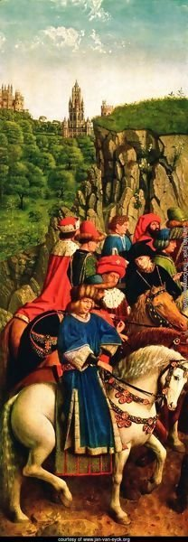 The Ghent Altarpiece- The Just Judges 1427-30