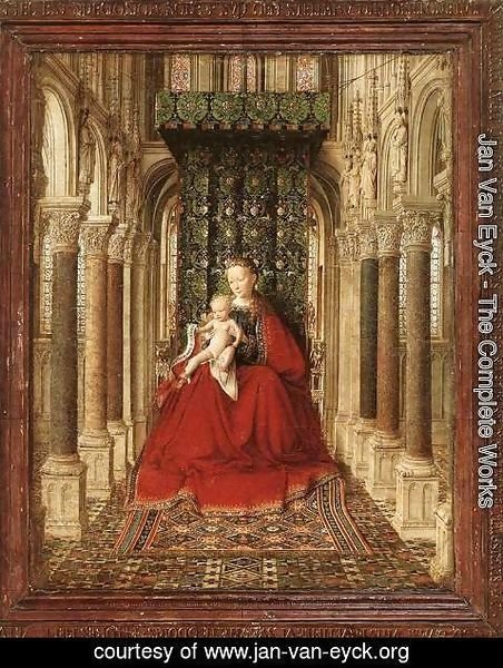 Jan Van Eyck - Small Triptych (central panel) c. 1437
