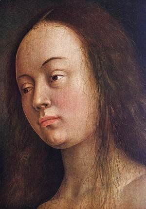 The Ghent Altarpiece- Eve (detail 1) 1425-29