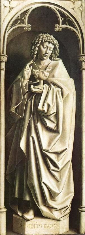 The Ghent Altarpiece- St John the Evangelist 1432