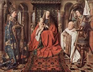Jan Van Eyck - The Madonna of Canon van der Paele 1436
