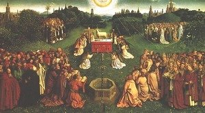 Jan Van Eyck - Adoration of the Mystic Lamb (The Ghent Altarpiece)